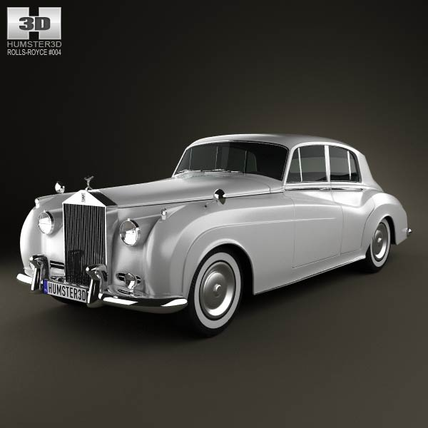 Rolls-Royce Silver Cloud II saloon 1959 3d car model