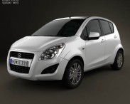 3D model of Suzuki Splash (Ritz) 2012