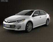 3D model of Toyota Avalon (XX40) 2013