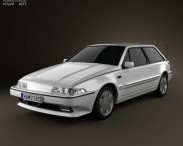 3D model of Volvo 480 1986