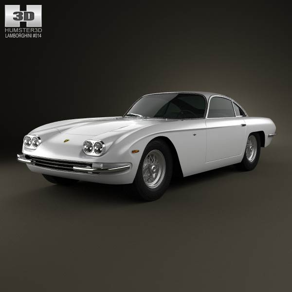 Lamborghini 400GT 1966 3d car model