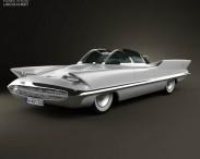 3D model of Lincoln Futura 1955