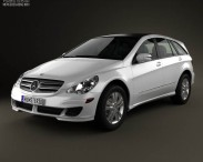 3D model of Mercedes-Benz R-Class (W251) 2006