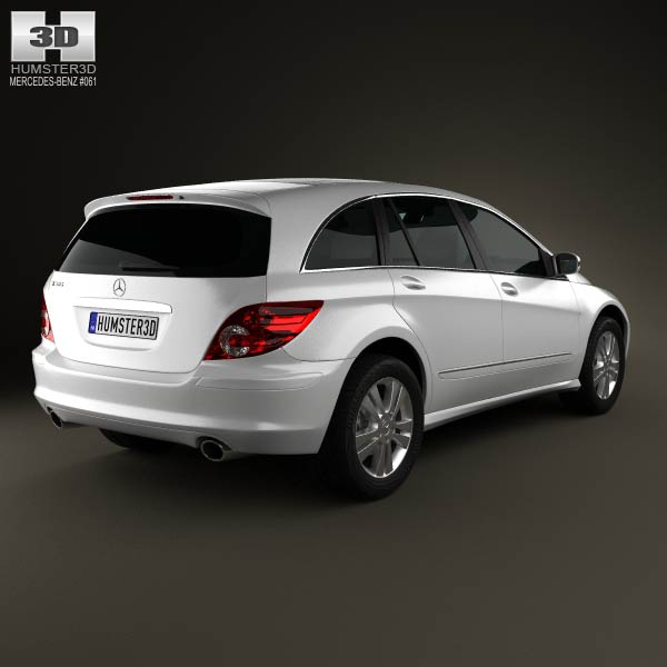 mercedes benz r class w251 2006 3d model humster3d