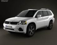 3D model of Mitsubishi Endeavor 2012