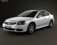 3D model of Mitsubishi Galant IX 2012
