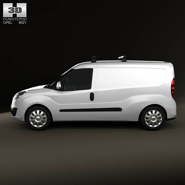 opel combo d panel van l2h1 2012 3d model humster3d. Black Bedroom Furniture Sets. Home Design Ideas