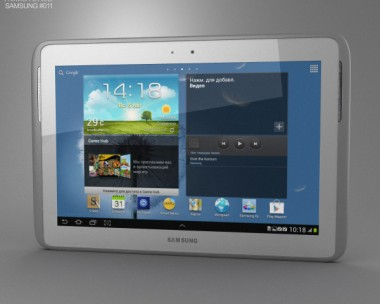 3D model of Samsung Galaxy Note 10.1