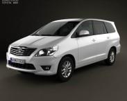3D model of Toyota Innova 2011