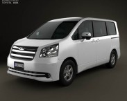 3D model of Toyota Noah (Voxy) 2010