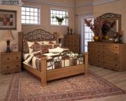 3D model of Ashley Rosalie Poster Bedroom Set