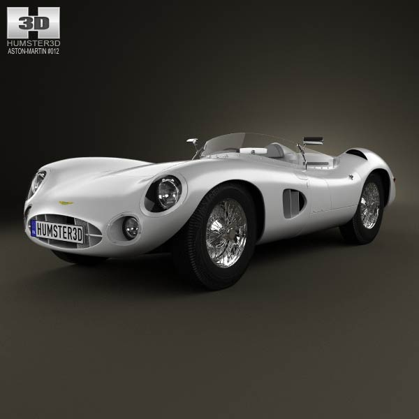 Aston Martin DBR1 1957 3d car model