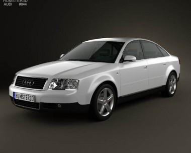 3D model of Audi A6 saloon (C5) 2001