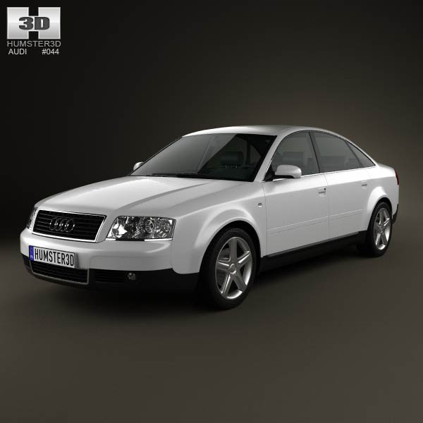 Audi A6 saloon (C5) 2001 3d car model