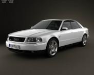 3D model of Audi A8 (D2) 1999