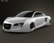 3D model of Audi RSQ 2004