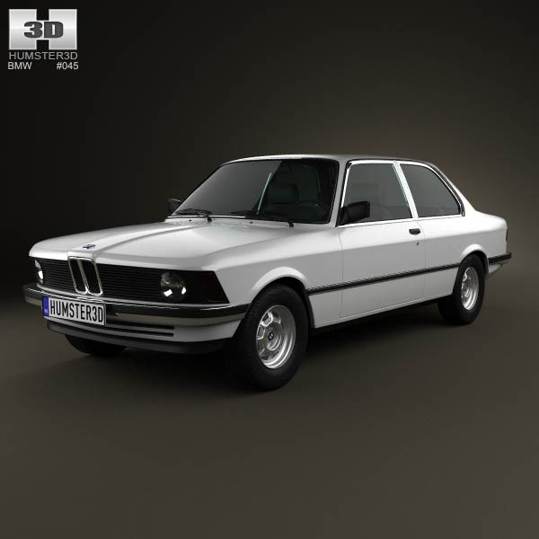 BMW 3 Series coupe (E21) 1975 3d car model