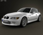 3D model of BMW Z3 coupe (E36/8) 1999