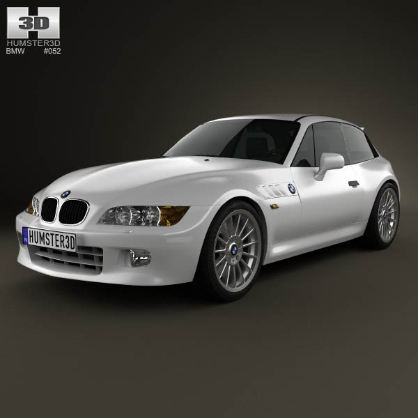 BMW Z3 coupe (E36/8) 1999 3d car model
