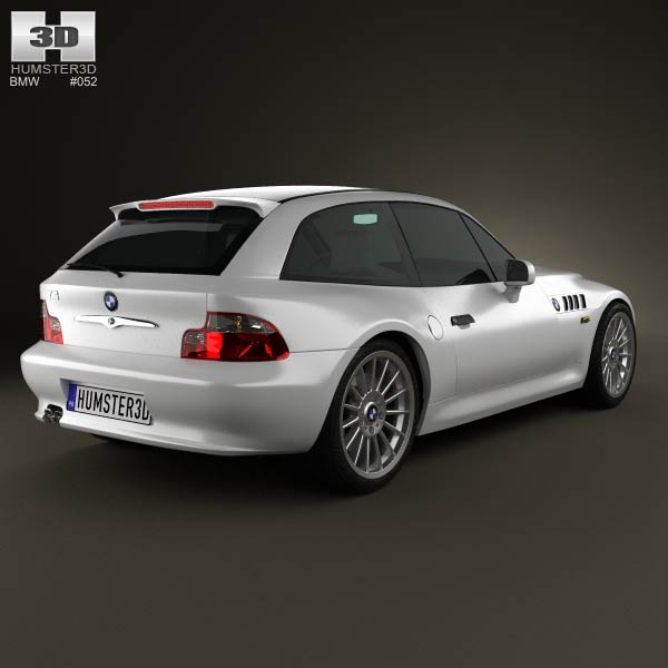 BMW Z3 coupe (E36/8) 1999 3d model