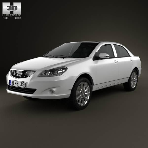 BYD G3 2012 3d model