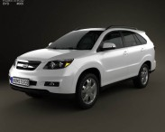 3D model of BYD S6 2012