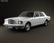 3D model of Bentley Mulsanne 1980