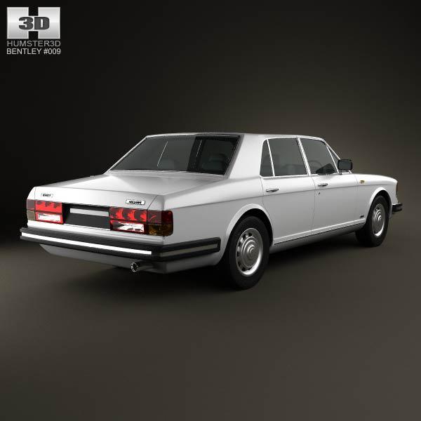 Bentley Mulsanne 1980 3D Model download (3ds max, obj formats ...