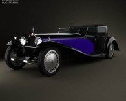 3D model of Bugatti Royale (Type 41) 1927