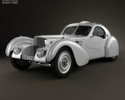 3D model of Bugatti Type 57SC Atlantic 1936