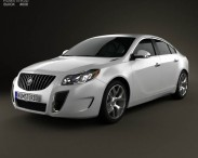 3D model of Buick Regal GS 2012