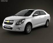 3D model of Chevrolet Cobalt 2012