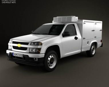 3D model of Chevrolet Colorado Hotshot II 2011