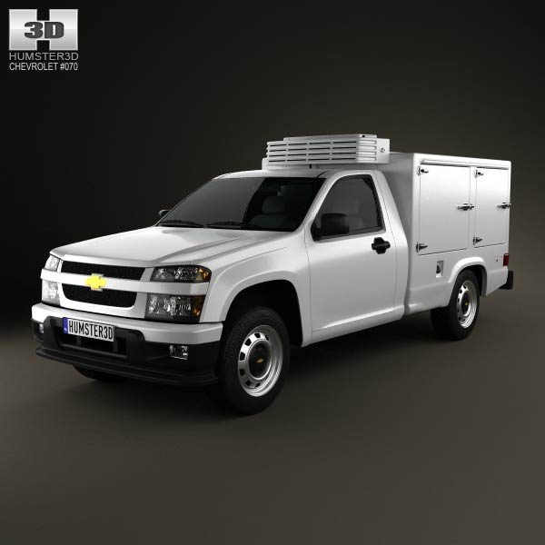 Chevrolet Colorado Hotshot II 2011 3d car model