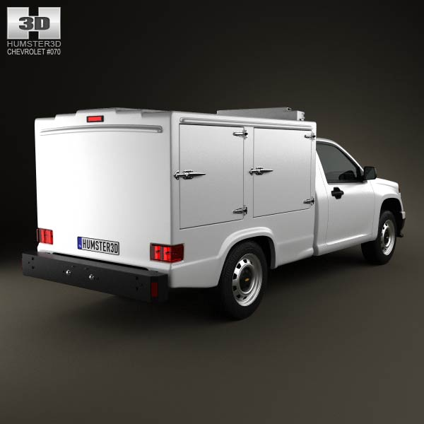 Chevrolet Colorado Hotshot II 2011 3d model