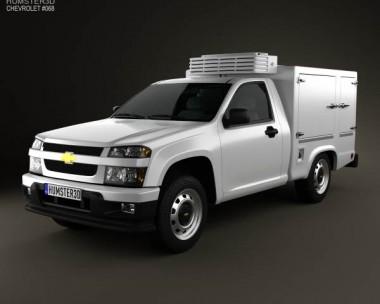 3D model of Chevrolet Colorado Hotshot I 2011