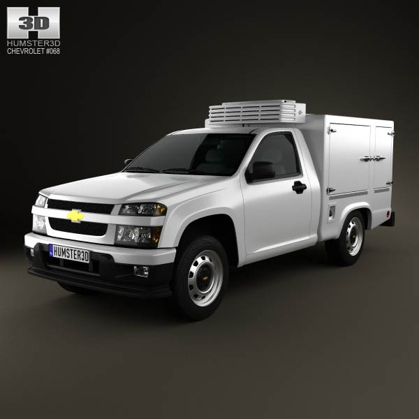 Chevrolet Colorado Hotshot I 2011 3d car model