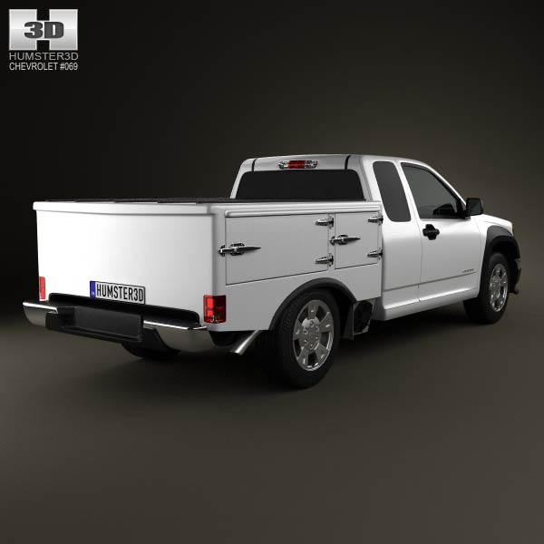 Chevrolet Colorado Hotshot I Lowboy 2011 3d model