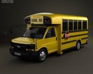 3D model of Thomas Minotour School Bus 2012