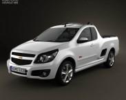 3D model of Chevrolet Montana (Tornado) 2012