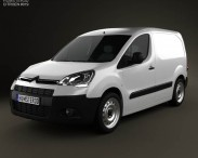 3D model of Citroen Berlingo Panel Van L1 2011