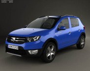 3D model of Dacia Sandero Stepway 2013