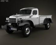 3D model of Dodge Power Wagon 1946