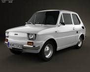 3D model of Fiat 126 1976