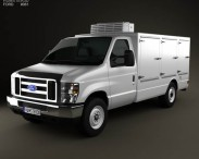 3D model of Ford E-Series DCI Pro 2011