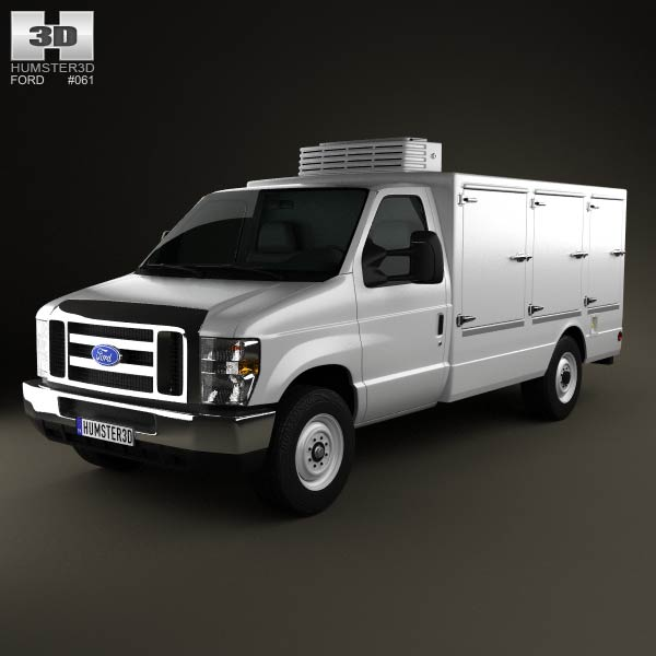 Ford E-Series DCI Pro 2011 3d car model