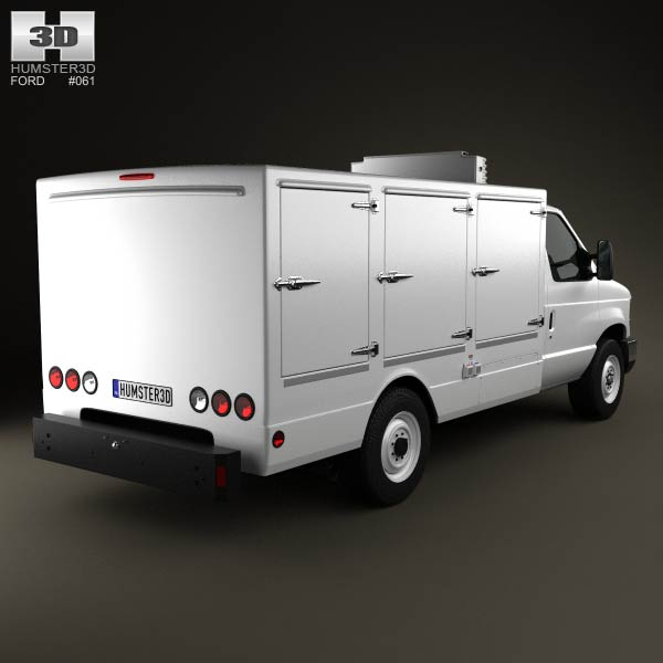 Ford E-Series DCI Pro 2011 3d model