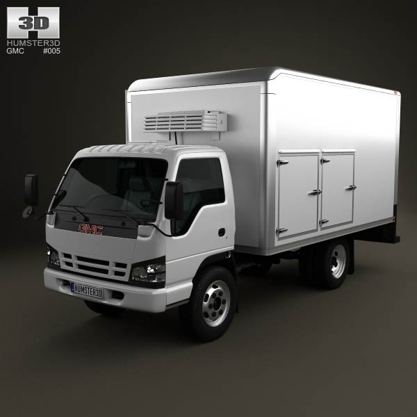 GMC W4500 Supershot 2009 3d car model