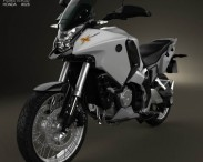 3D model of Honda VFR1200X 2012