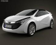 3D model of Hyundai Blue-Will 2010